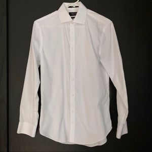 Nordstrom Extra Trim Fit Non-Iron Dress Shirt